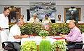 Suresh Prabhakar Prabhu witnessing the signing of the Development Agreement for the redevelopment of Habibganj Station in Bhopal.jpg