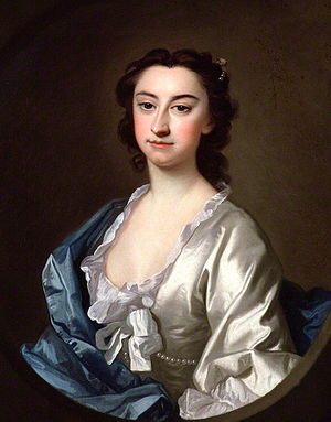 Theophilus Cibber - Susannah Maria Cibber, Theophilus' second wife Portrait by Thomas Hudson