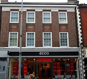 ECCO - Branch of Ecco in High Street, Sutton, London