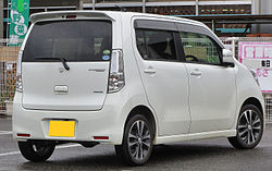 Suzuki WagonR Stingray T MH34S Rear.JPG