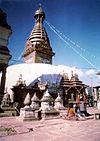 Swayambhunath, 1973