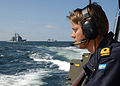 Swedish Navy Officer during BALTOPS 2003.jpg