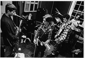 Swirlies - Swirlies in their practice space, 1992
