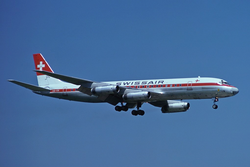 Swissair DC-8-62 HB-IDE ZRH Jun 1977.png