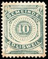 Switzerland Adlisweil 1906 revenue 10c - 1.jpg