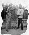 Sword, lath fence, uniform, shako Fortepan 57852.jpg
