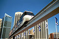 Sydney Monorail, Pyrmont Bridge, 2001.jpg