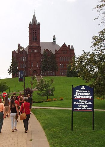 Nederlands: Syracuse University