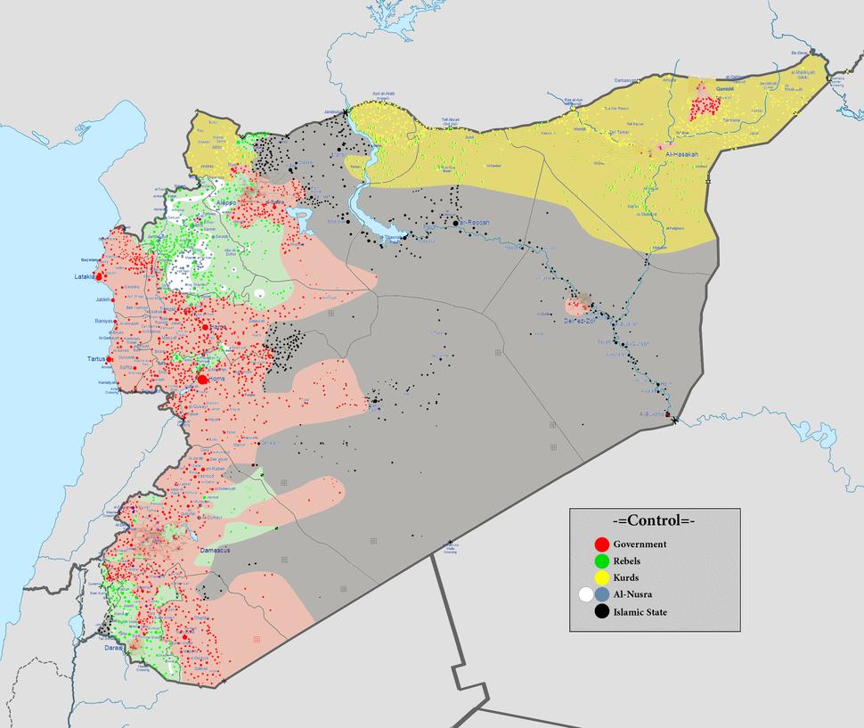 Syrian civil war 01 03 2016