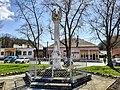 Szászvár, Szentháromság-szobor 2021.jpg