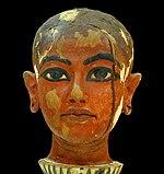 Tête de Toutânkhamon enfant (musée du Caire Egypte).jpg