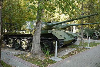 T-44 - T-44 displayed in the Museum of the Great Patriotic War, Moscow, Poklonnaya Hill Victory Park.