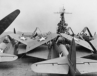 Cuba during World War II - Image: TB Ds on USS Ranger 1942