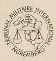 TMI - Procès des grands criminels de guerre devant le Tribunal militaire international, vol. 1, 1947 (page 1 crop).jpg