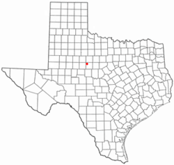 Location of Trent, Texas