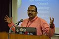 T Vishnu Vardhan - Panel Discussion - Collaboration with Academic Institutes for the Growth of Wikimedia Projects in Indian Languages - Bengali Wikipedia 10th Anniversary Celebration - Jadavpur University - Kolkata 2015-01-10 3413.JPG