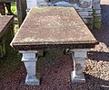 Table gravestone of William Inglis, Minister of the Anti-Burgher Congregation. St Michael's Church.jpg