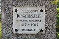 Tablica na pomniku Tadeusza Kościuszki w Sadownem.JPG