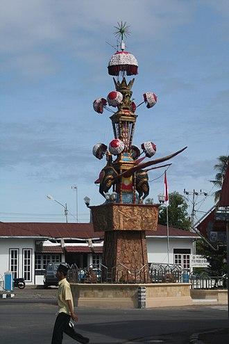 Pariaman - Tabuik monument