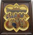 Taddeo gaddi, storie di cristo e di s. francesco (armadio di s. croce), 1335-40 ca. 09 ultima cena.JPG