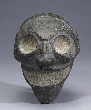 Zemi - Taino Zemi mask from Walters Art Museum.
