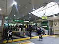 Takadanobaba Station JR Waseda entrance - March 30 2016.jpg