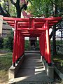 Takakura Inari Daimyojin Shrine in Yasaka Shrine in Kokura Castle.jpg