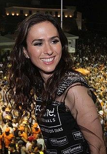 Tatá Werneck Brazilian actress