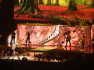"Today Was a Fairytale - Swift performing ""Today Was a Fairytale"" on the second North American leg of the Fearless Tour"
