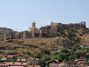 Military history of Georgia - The Narikala fortress in Tbilisi