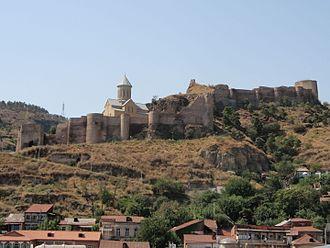 Military history of Georgia - The Narikala fortress in Tbilisi