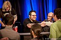 Team Meat at 2012 GDC Indie Game The Movie panel (6814309570) (2).jpg