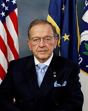 Ted Stevens (R-Alaska), the former President p...