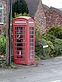 Telephone box, Hamstall Ridware - geograph.org.uk - 1157795.jpg