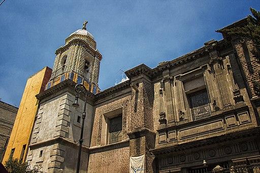 Templo Ntra Sra de Balvanera fachada