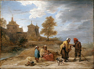 Gypsies in a Landscape