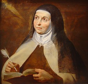 Holy water - Saint Teresa of Avila, by Rubens, 1615