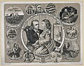 Testimony in the great Beecher-Tilton scandal case illustrated - des. & drawn by James E. Cook 46 Desplaines St. ; Commercial Lith. Co. 180 Clark St. LCCN99400533.jpg