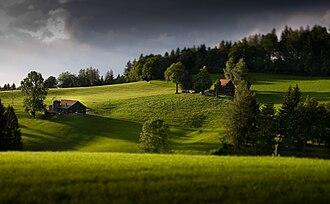 Teufen, Appenzell Ausserrhoden - Countryside of Teufen