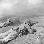 The British Army in Italy 1944 NA17494