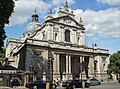 The Brompton Oratory (Church of the Immaculate Heart of Mary) Brompton Road, London SW7.jpg