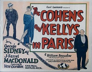 <i>The Cohens and the Kellys in Paris</i> 1928 film