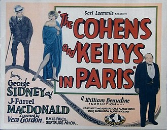 The Cohens and the Kellys in Paris - Image: The Cohens and Kellys in Paris