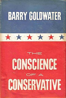 <i>The Conscience of a Conservative</i> book by Barry Goldwater