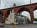 The Crown Inn and viaduct, Stockport.jpg