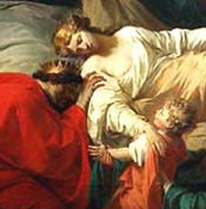 Alceste (Gluck) - The Death of Alceste by Pierre Peyron (1785)