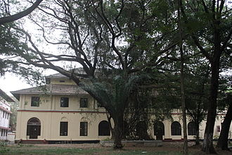 M. Achuthan - Maharaja's College, Ernakulam, where Achuthan studied and worked