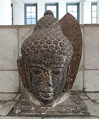 The Head of Buddha Statue