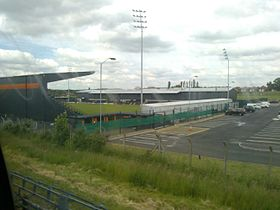 Image of The Hive Stadium, home of Barnet FC