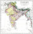 The Indian Empire Map from Imperial Gazetteer of India,Vol 6, published 1886.PNG